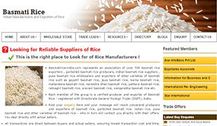 Basmati Rice India