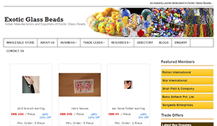 Exotic Glass Beads