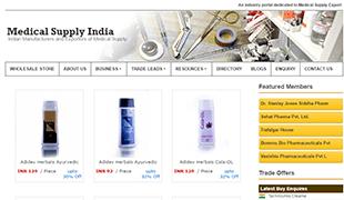 Medical Supply india