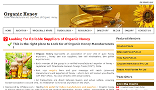 Organic Honey.in