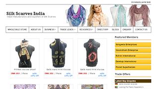 Silk Scarves India