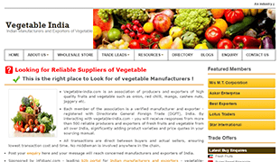 Vegetable India